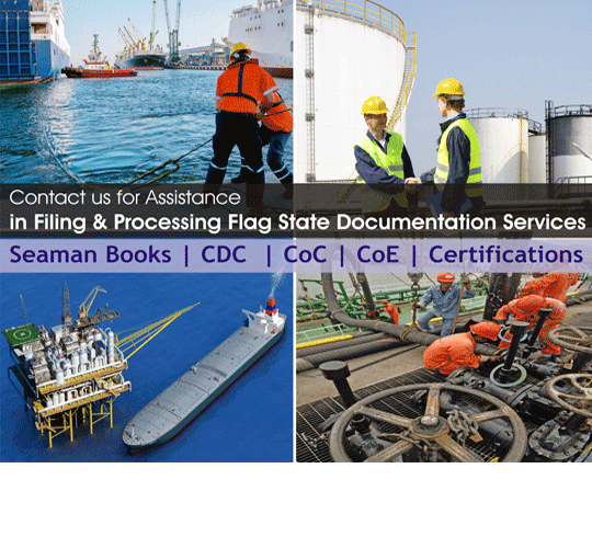 Certificate of Competency / Marine Licence Seaman Record  Book / Seaman's Discharge Book / Continuous Discharge Certificate